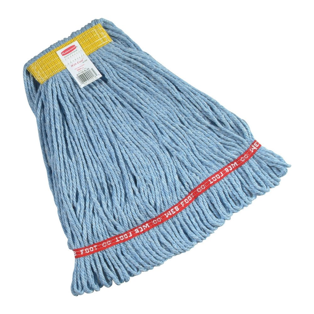 Rubbermaid Web Foot vochtige mop blauw