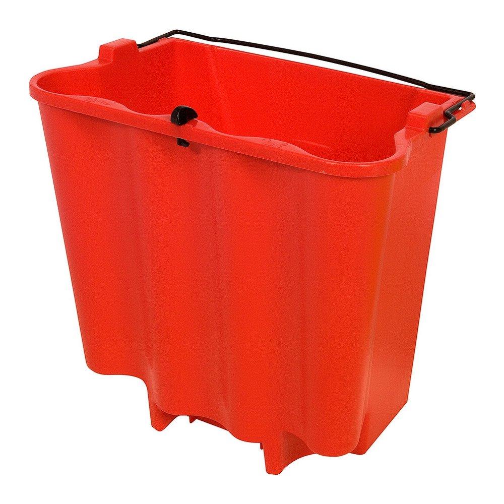 Rubbermaid Wavebrake vuilwateremmer 17ltr rood