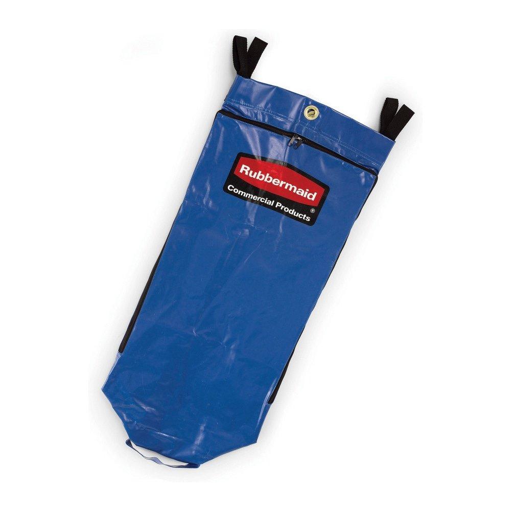 Rubbermaid schoonmaakkar recyclingzak blauw