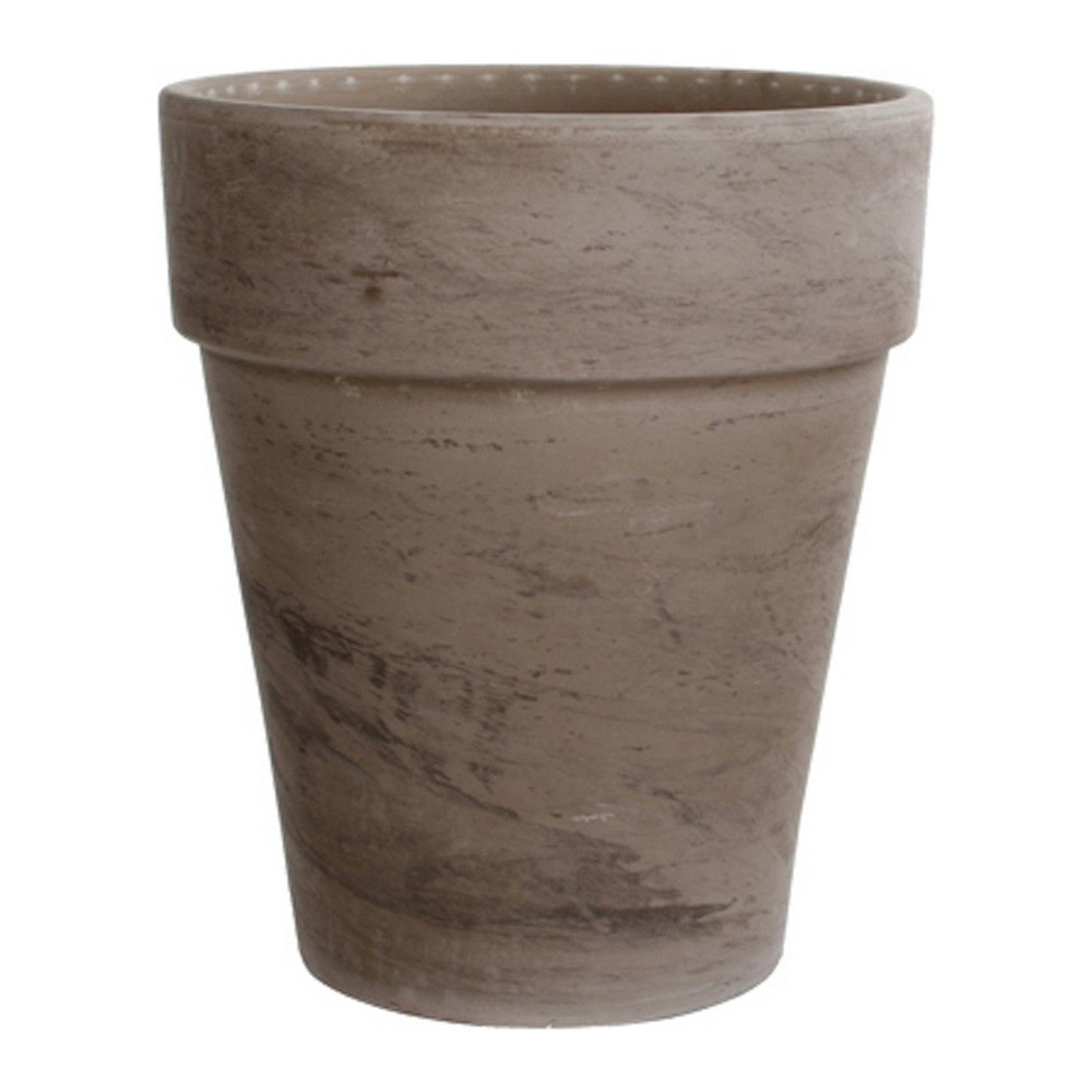 Bloempot 38cm steen grijs