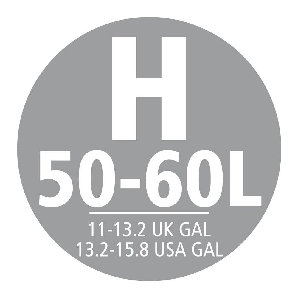 Brabantia Afvalzak (H) 50-60 liter Trekbandaansluiting 12 x 20 zakken