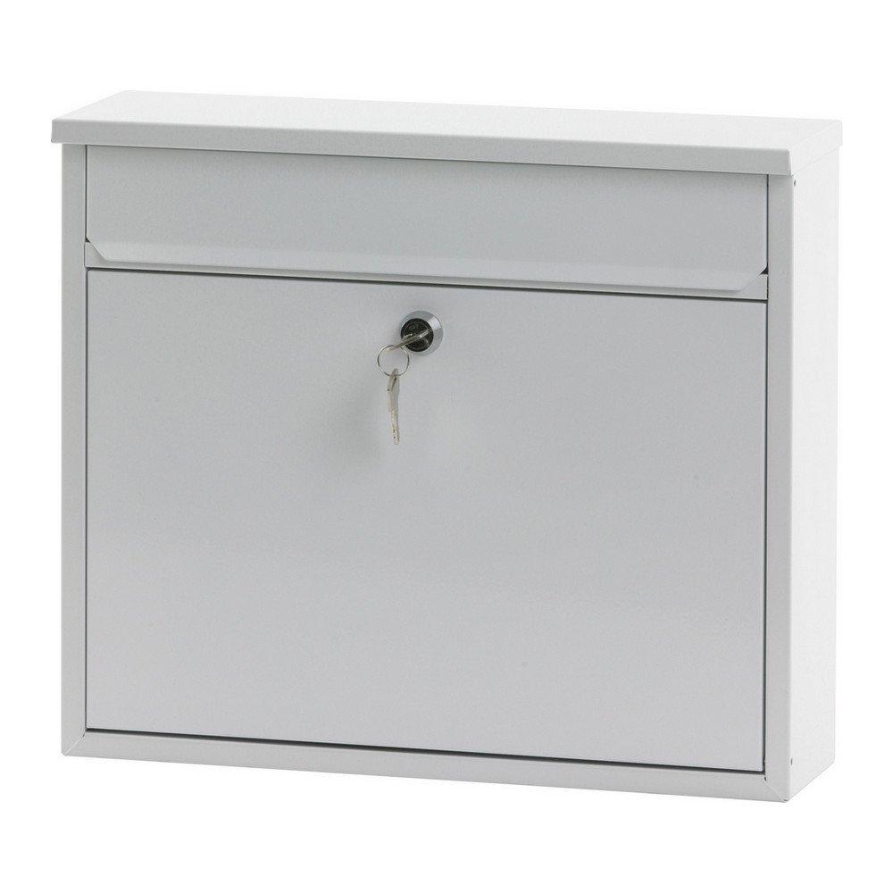 Wandbrievenbus h 315 cm wit