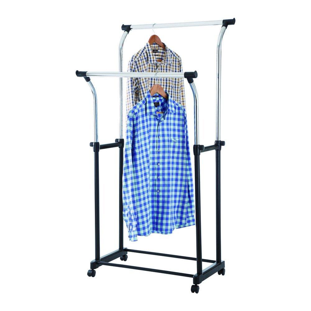 mobiel kledingrek chroom