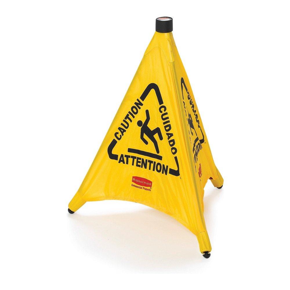 Rubbermaid opvouwbare waarschuwingskegel klein