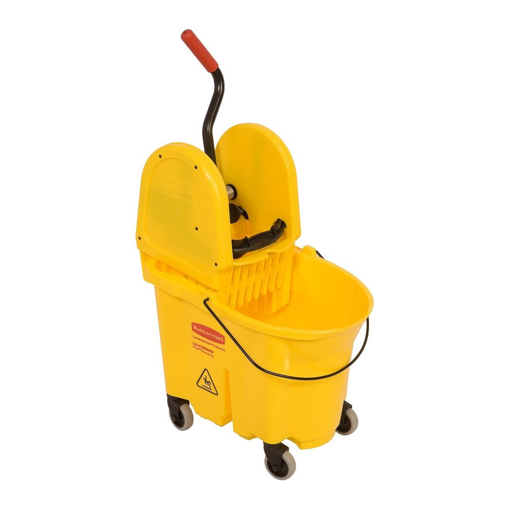 Rubbermaid Wavebrake Combopers 33ltr geel