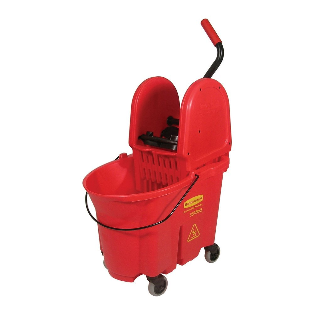 Rubbermaid Wavebrake Combopers 33ltr rood