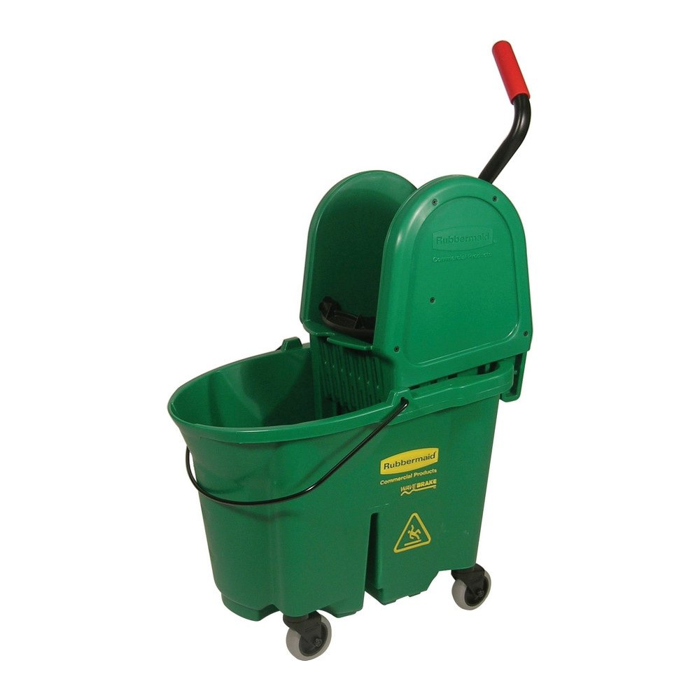Rubbermaid Wavebrake Combopers 33ltr groen