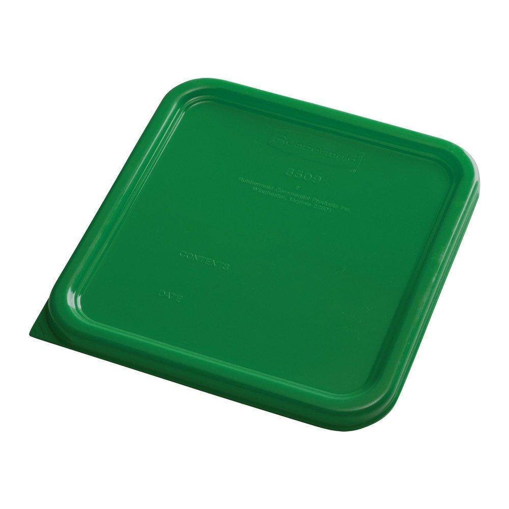 Rubbermaid Deksel vierkant small 6 stuks groen