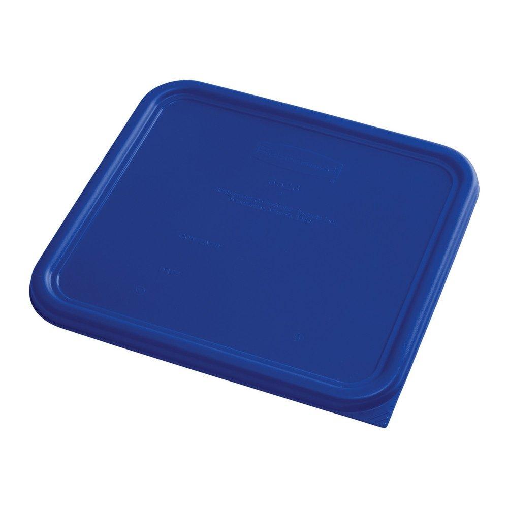 Rubbermaid Deksel vierkant large 6 stuks blauw