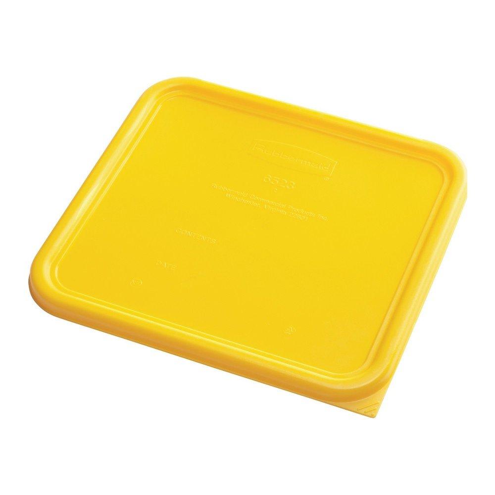 Rubbermaid Deksel vierkant large 6 stuks geel