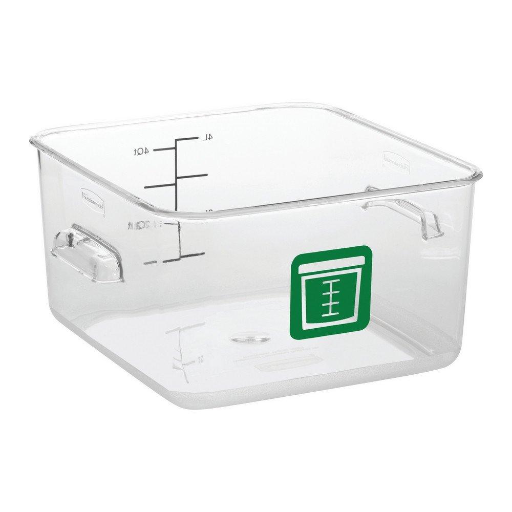 Rubbermaid Vierkante Container 3,8 liter 6 stuks groen
