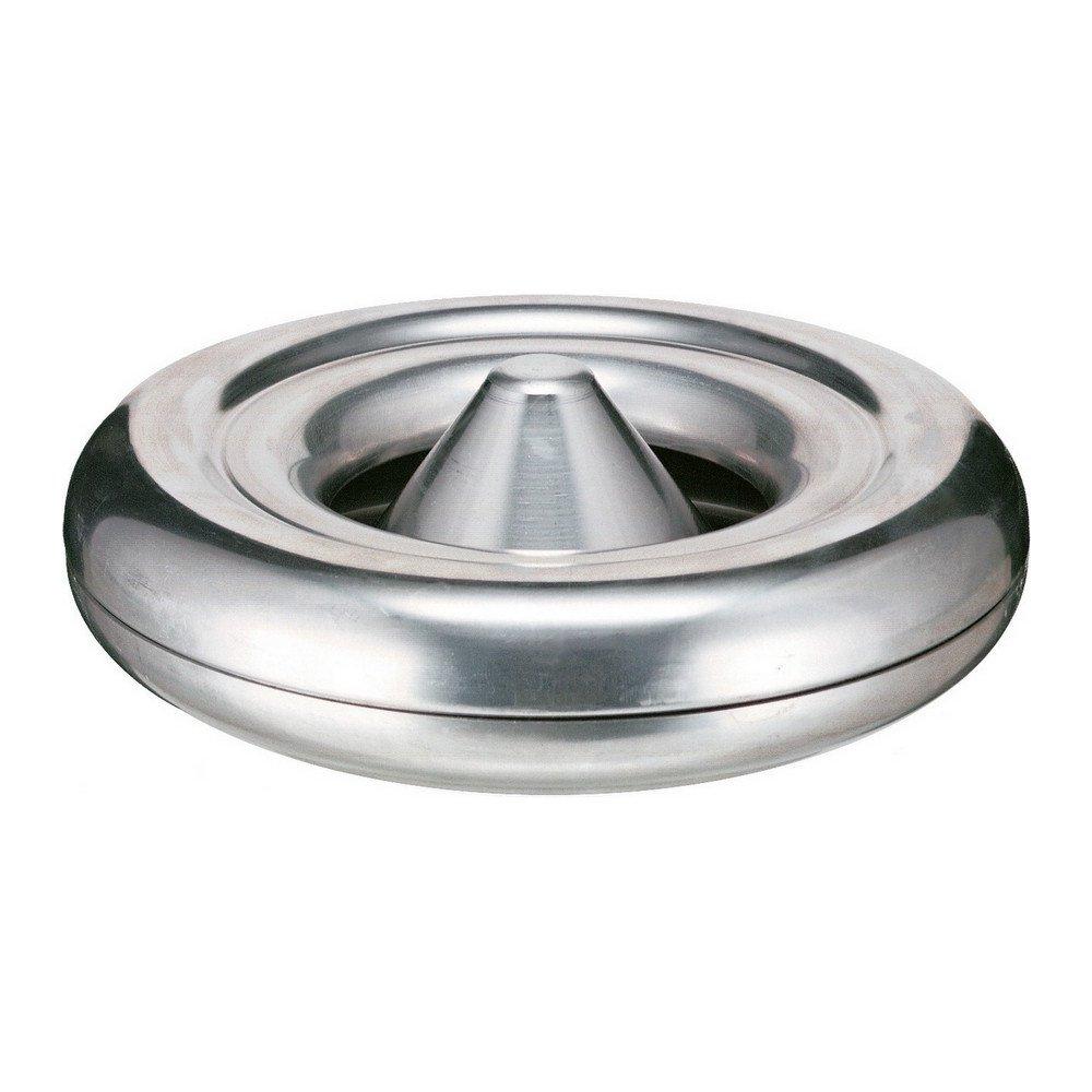 Asbak vlamdovend 25 cm aluminium