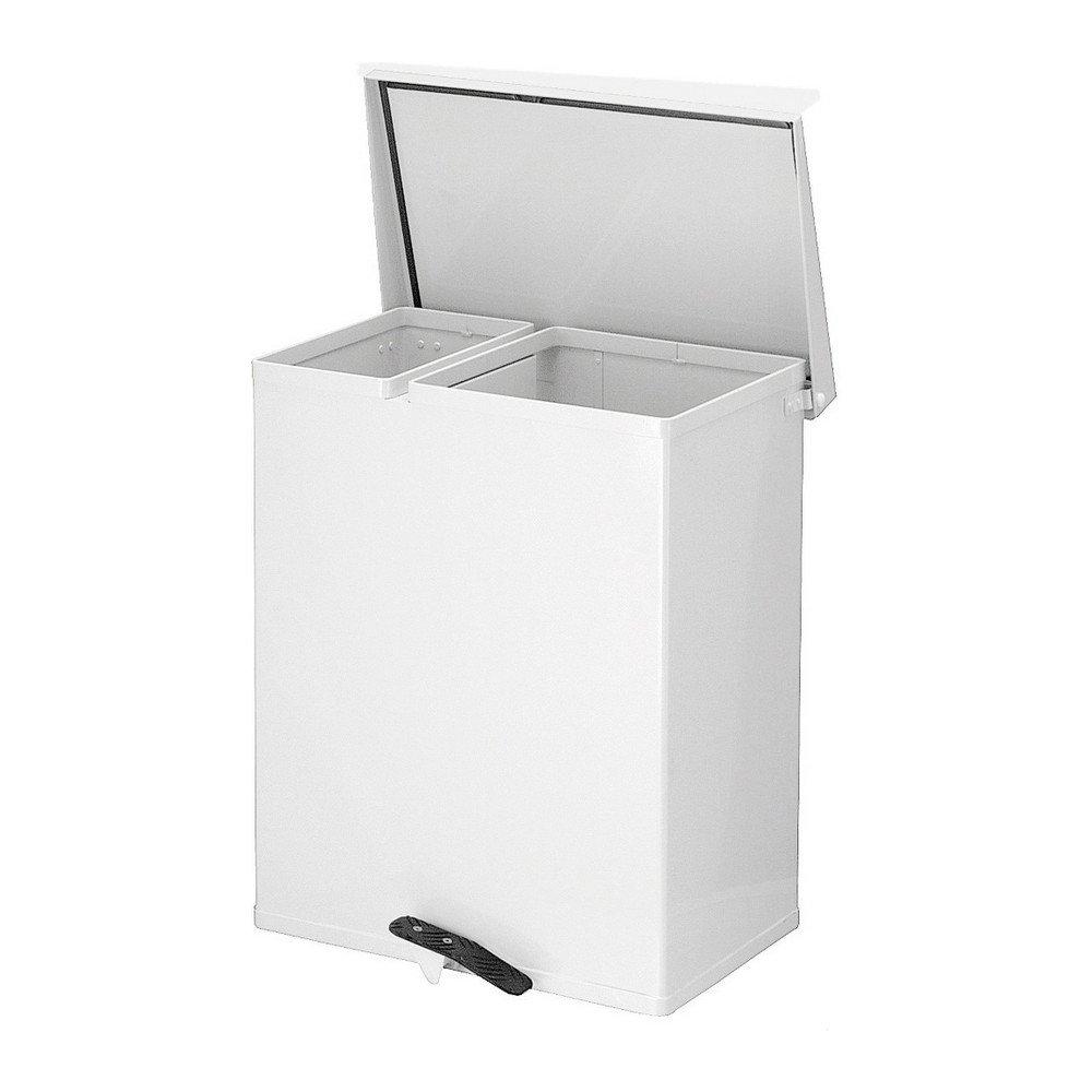Populair Pedaalemmer voor afvalscheiding kopen | 2 compartimenten IR71