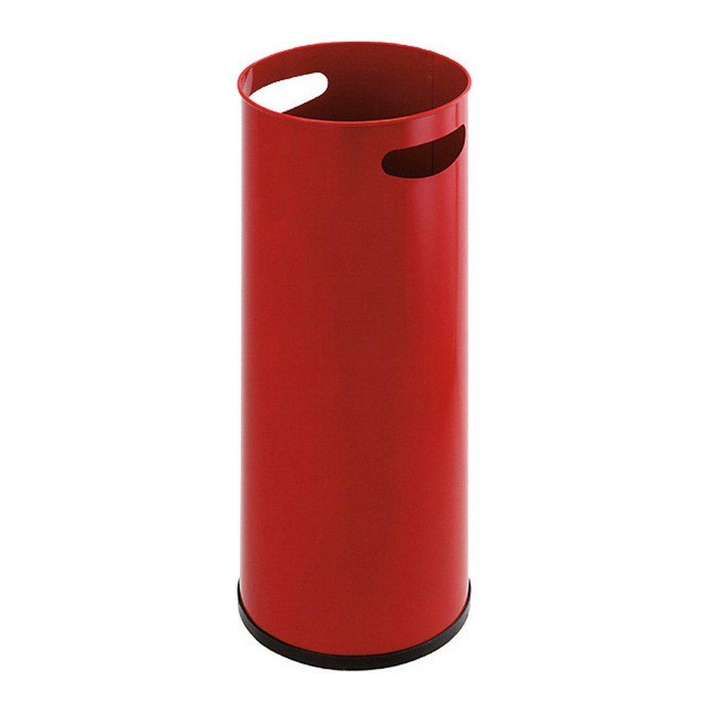 Paraplustandaard metaal rood