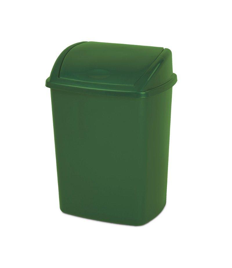 Afvalbak 26 liter Groen 16 stuks