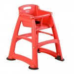 Rubbermaid kinderstoel Sturdy chair rood
