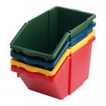 Recyclingbox rood