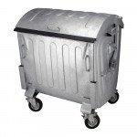 Staalverzinkte container | Inhoud: 1100 liter